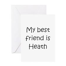 Heath love Greeting Card