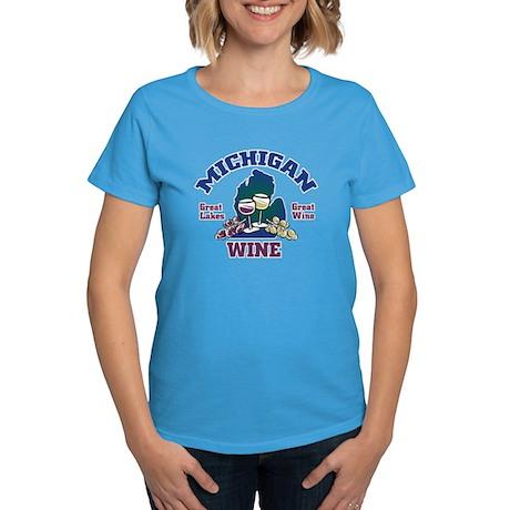 Michigan Wine Women's Dark T-Shirt