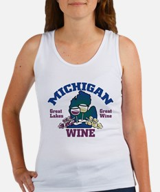 Michigan Wine Women's Tank Top