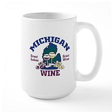 Michigan Wine Mug