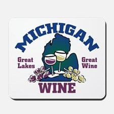 Michigan Wine Mousepad