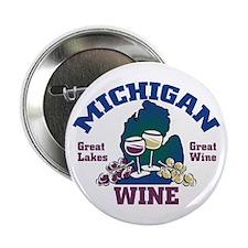 "Michigan Wine 2.25"" Button (10 pack)"