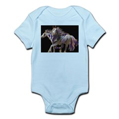 Paint Horses Infant Bodysuit