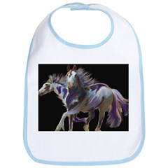 Paint Horses Bib