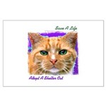 Save a Life - Adopt a Shelter Large Poster