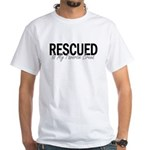Rescued is My Favorite Breed White T-Shirt
