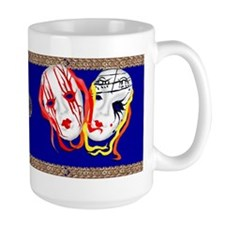 Two Masks Mug