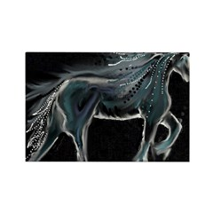 Night Horse Rectangle Magnet