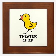 Theater Chick Framed Tile