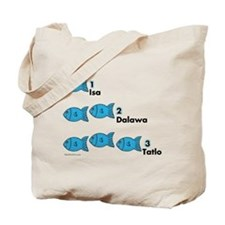 Counting in Tagalog Tote Bag