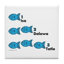 Counting in Tagalog Tile Coaster