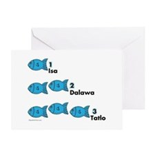 Counting in Tagalog Greeting Card