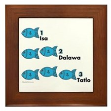Counting in Tagalog Framed Tile