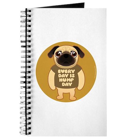 HUMP DAY Pug Journal