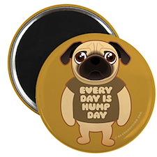HUMP DAY Pug Magnet