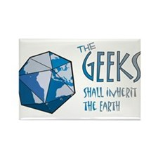 Geeks Inherit Rectangle Magnet