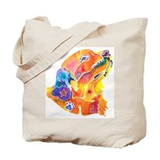 Golden Retreiver Art Tote Bag