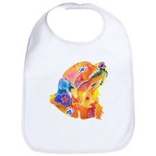 Golden Retreiver Art Bib