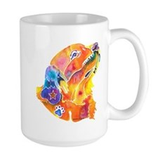 Golden Retreiver Art Mug