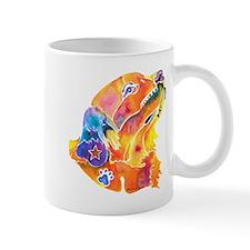 Golden Retreiver Art Mug