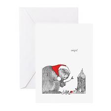Christmas Beaver (Pk of 10)