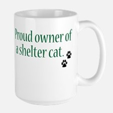 Proud Owner Shelter Cat Mug