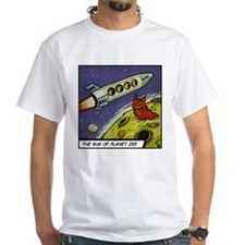 'Bug Of Planet Zee' T-Shirt with Backprint