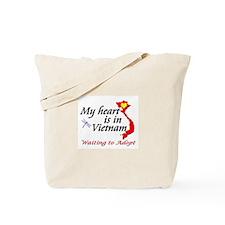 Heart in Vietnam Tote Bag