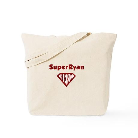 Super Hero Ryan Tote Bag