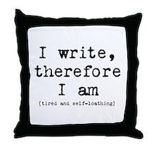 Writer Philosophy Throw Pillow
