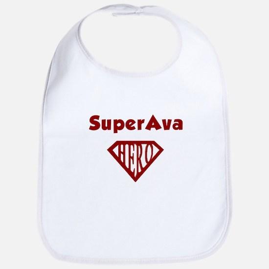 Super Hero Ava Bib