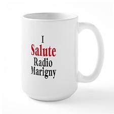 I Salute Radio Marigny Mug