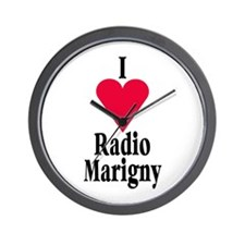 I (heart) Radio Marigny Wall Clock