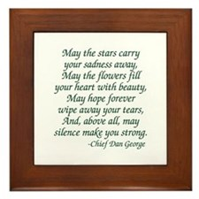 Stars Carry Framed Tile