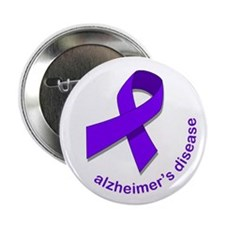 "Alzheimer's Disease 2.25"" Button"
