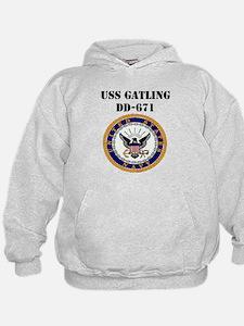 USS GATLING Hoodie