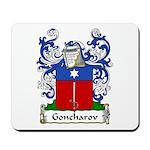 Goncharov Family Crest Mousepad
