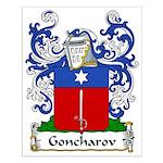 Goncharov Family Crest Small Poster