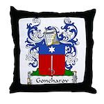 Goncharov Family Crest Throw Pillow