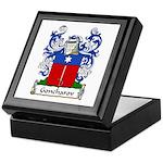 Goncharov Family Crest Keepsake Box