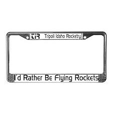 TIR License Plate Frame