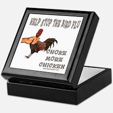 Help Stop Bird Flu Choke More Keepsake Box