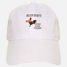 Help Stop Bird Flu Choke More Baseball Baseball Cap
