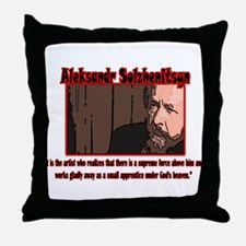 Funny Interesting Throw Pillow