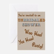 unBRIDALed Shower Invitation Greeting Cards (Pk of