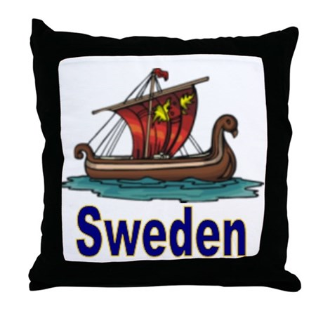 SE-2 Longboat Throw Pillow