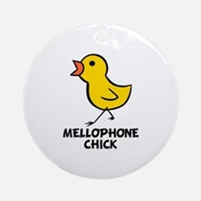 Mellophone Chick Ornament (Round)