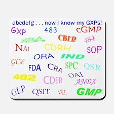 GXP Acronym Mousepad