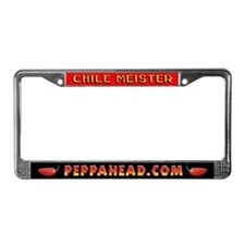 CHILE MEISTER License Plate Frame