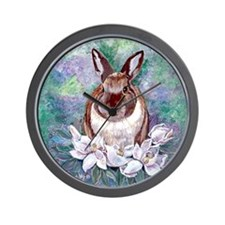Bunjie Bunny Wall Clock
